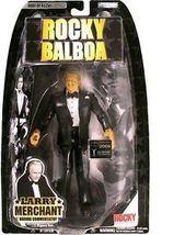 ROCKY LARRY MERCHANT ROCKY BALBOA JAKKS PACIFIC ACTION FIGURE TOY - $27.99