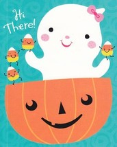 "Greeting Card Halloween Granddaughter ""Hi There"" Just couldn't forget to... - $1.50"