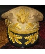 US General Douglas MacArthur's Uniform Khaki Hat NEW Size 57, 58, 59, 60... - $137.16