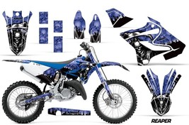 Dirt Bike Decal Graphic Kit MX Wrap For Yamaha YZ125 YZ250 2015-2018 REA... - $168.25