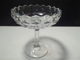 FOSTORIA AMERICAN TALL FOOTED COMPOTE - $8.95