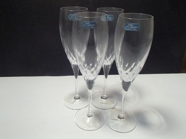 "Primary image for 4 CRISTAL d'ARQUES ""CAPELLA"" FLUTES~~~NEW IN BOX~~hve more"