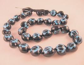 "Kukui Tree Nut Hawaiian Lei Turtle Heart Beads 33 1/2"" Unisex - $29.39"