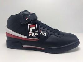 Men's Fila Navy | Red | White Original Fitness High Top Sneakers  - $69.00
