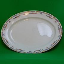 "Rare Vintage (1868-1930s) Mercer Potteries (New Jersey) 15"" Porcelain Pl... - $12.95"