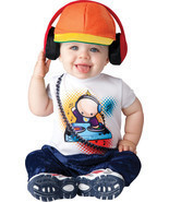 BABY BEATS RADIO DJ RAPPER INFANT/ TODDLER HALLOWEEN COSTUME By InCharacter - $40.10 CAD
