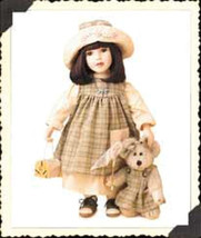 "Boyds Yesterdays Child ""Molly w/Cricket.. Winged Friends""- #4924-16"" Dol... - $49.99"
