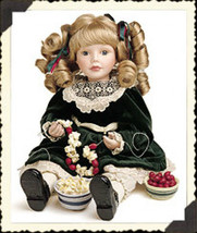 "Boyds Yesterdays Child ""Noel.. Popcorn & Cranberries""- #4820- 12"" Doll- LE - $59.99"