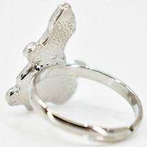 Kid's Fashion Silver Tone Dinosaur Color Changing Fashion Adjustable Mood Ring image 2