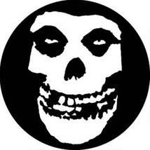 Misfits Skull Face Pinback Button - $3.95