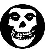 Misfits Skull Face Pinback Button - $3.95
