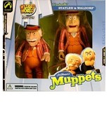 Muppets - Vaudeville Statler & Waldorf Action Figure Set -WIZARD WORD CH... - $57.92