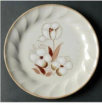 Vintage Salad Plate Felicity Sculptura Hearthside Stoneware Width 7 3/4 in - $5.89