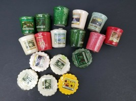 Lot of 17 Yankee Candles - Votive and Wax Melts Sunflower, Cinnamon etc New - $37.13