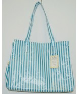 Mainstreet Collection DBST6665 Stripe Diaper Bag Coated Canvas - $19.99
