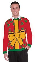 Forum Novelties Adult All Wrapped Up Ugly Christmas Sweater (Large|Red) - $34.82