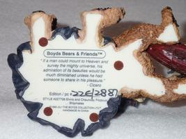 Boyd Bearstone Resin Bears 1998 Elvira and Chauncey Fitzbruin Shipmate Figurine image 4