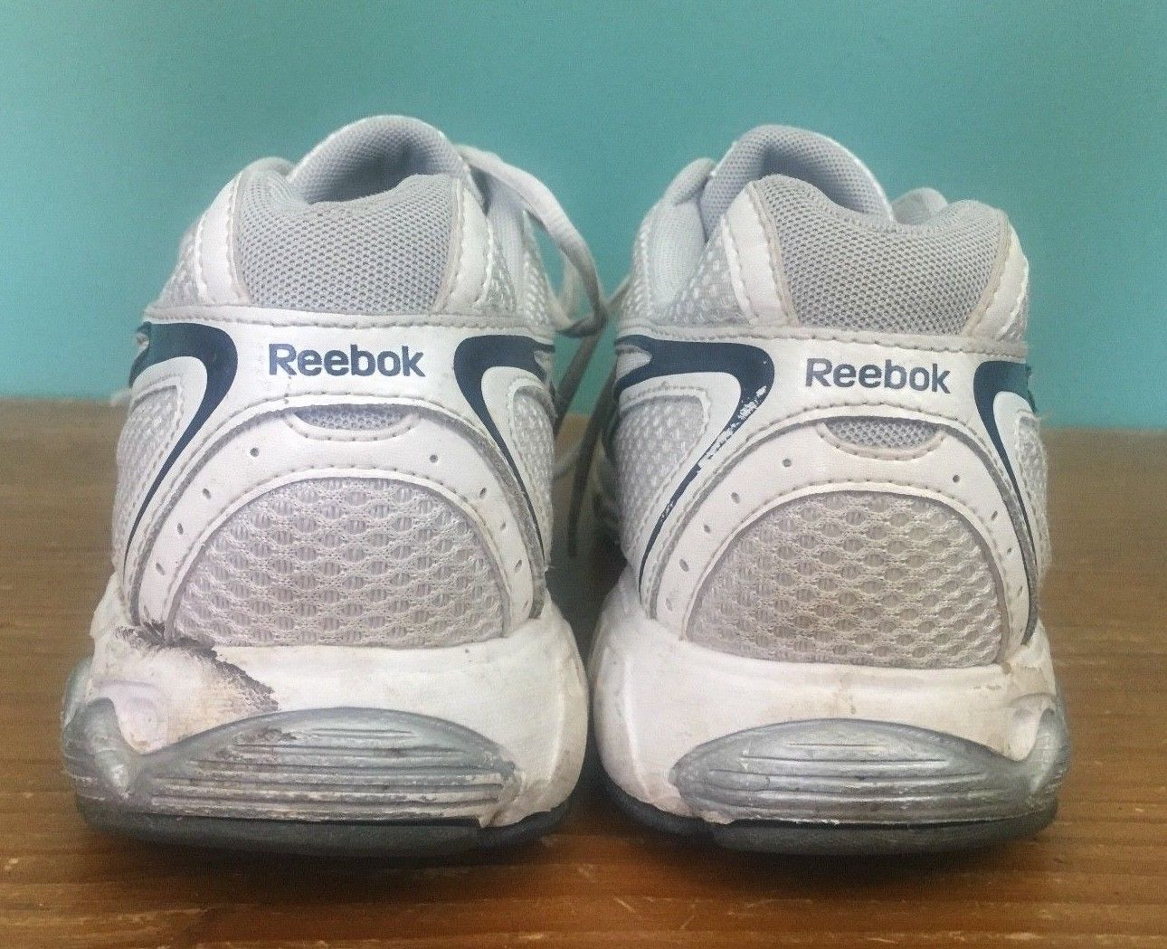 new style 3c824 5f6dd ... Reebok Men s Walking Shoes - Size 10.5 - White, Silver, ...