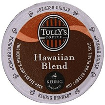 Tully's Coffee Hawaiian Blend K-Cups, 80 Count - $95.37