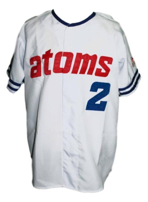 Sankei atoms retro baseball jersey button down white   1