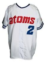 Sankei Atoms Retro Baseball Jersey 1966 Button Down White Any Size image 1