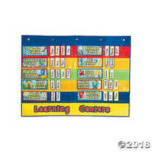 Classroom Centers Pocket Chart - $24.49