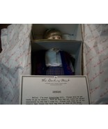 """RARE DANBURY MINT """" SCHOOL TIME """" MINT IN BOX LOVELY DOLL NRFB NONE ON E... - $34.65"""