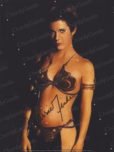 Reprint RP signed autograph autogramm  photo picture  sexy Carrie Fisher... - $3.18