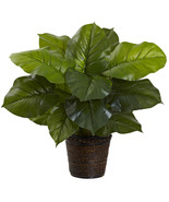 """29"""" Large Leaf Philodendron Silk Plant (Real Touch) - $68.58"""