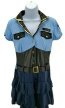 Policewoman Women Adult Halloween Costume Sexy Role Play Small 4-6 - $49.45