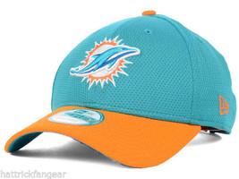 Miami Dolphins New Era 9FORTY Fundamental Tech Nfl Team Logo Cap Hat Osfm - $20.85