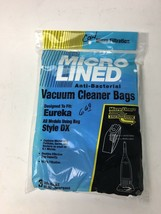 DVC Micro Lined Eureka Style DX Microlined Paper Vacuum Bags 3 Pack - $6.00