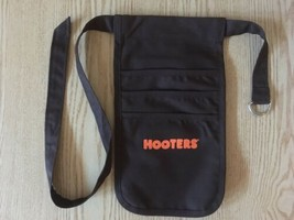 New Authentic Hooters Girl Uniform Black Money Pouch Halloween Costume A... - $21.73
