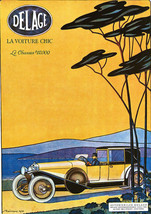 Art Print POSTER Rench Sports Car Auto Delage - $2.96