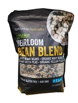 Epicurean Specialty Organic Heirloom Bean Blend, 5.5 lbs - $31.30