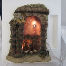 Dept 56 Starry Night Nativity Lit Scene 2002 - $98.99