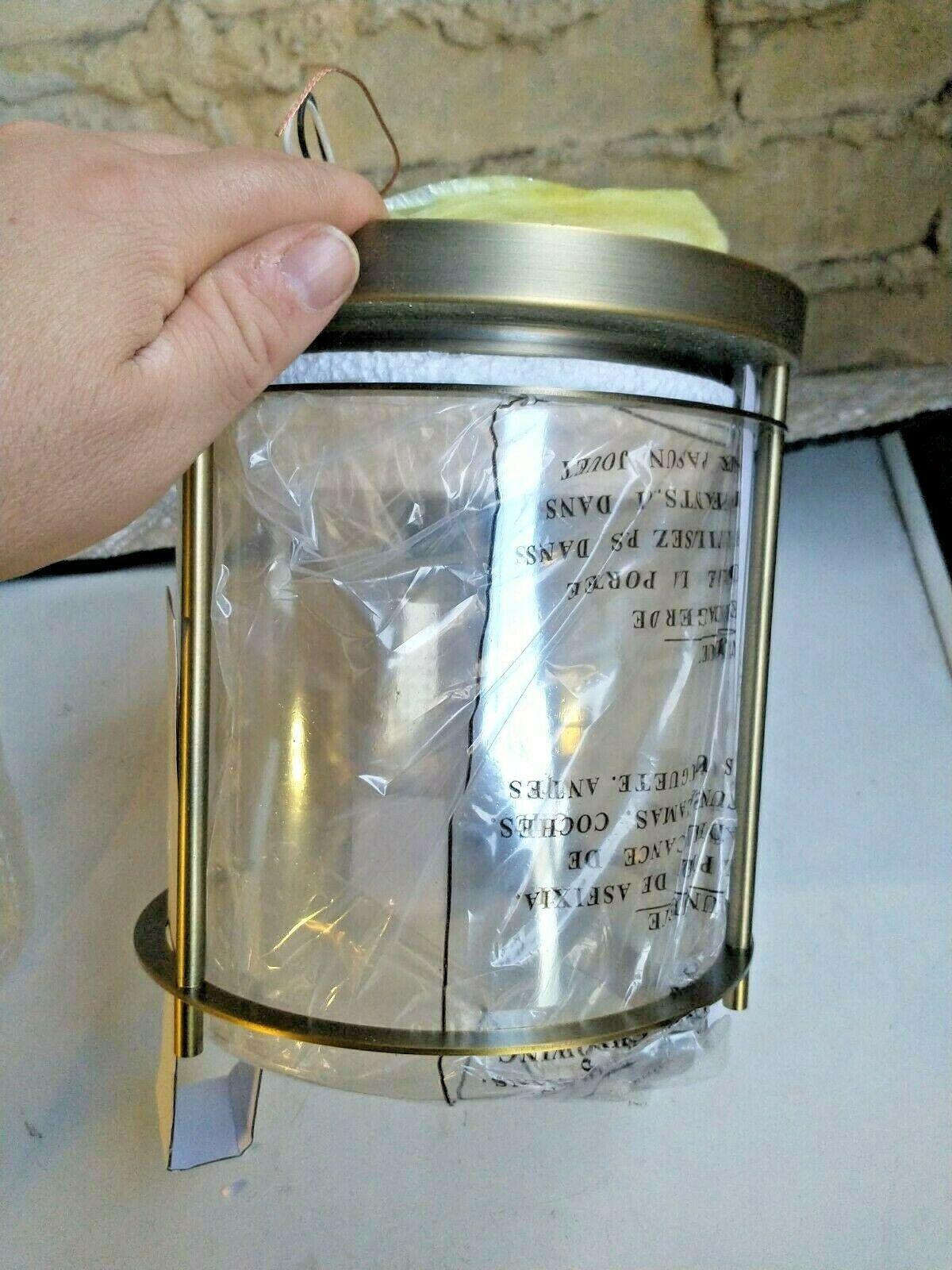 Allen+Roth Lynbridge Flushmount Ceiling Fixture Soft Gold  0858410 - $54.00