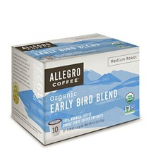 Allegro Coffee Single Serve Coffee Capsules (Early Bird Blend, 6 Boxes) - $77.39