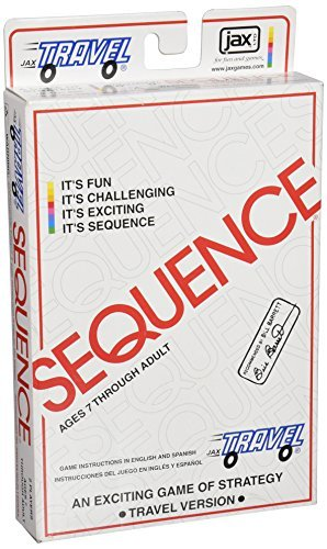 Primary image for Travel Sequence - The Exciting Strategy Game in a Compact Travel Case!