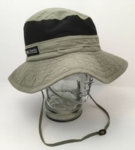 Vintage Columbia Sun Hat USA Packable Vented Paddling Hiking Outdoor Medium - $35.59