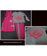 Toddler Diva HELLO BEAUTIFUL 3 Piece Suit NWT Pink Sz 2T - $9.99