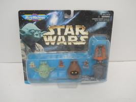 STAR WARS GALOOB MICRO MACHINES COLLECTION III 3 YODA JAWA PRINCESS LEI ... - $12.99