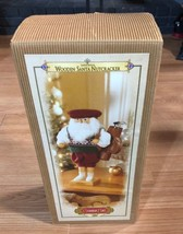 Grandeur Noel Wooden Santa Nutcracker Christmas Collector's Edition 2000... - $39.99