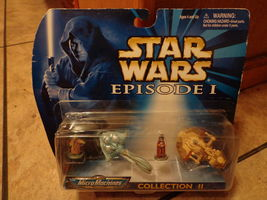 1998 MICRO MACHINES--STAR WARS EPISODE 1--COLLECTION 2 SET - $12.99