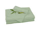 Bedvoyage Home Decorative Bedding Sheet Set, King - Sage