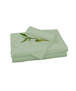 Bedvoyage Home Decorative Bedding Sheet Set, King - Sage - £118.64 GBP