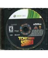 Tony Hawk: Shred (Microsoft Xbox 360, 2010) Disk Only! - $3.95