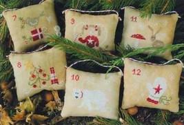 December 7-12 cross stitch chart Madame Chantilly - $11.70