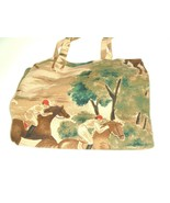 Nordic House Designs Bag Tote Horse Equestrian Vtg Made In The USA - $23.71