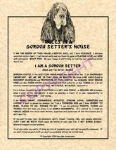 Rules In A Gordon Setter's House - $20.50